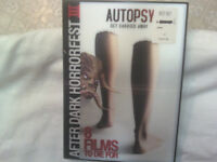 Autopsy Dvd 2009 - Low Price With Dvd Sleeve Factory Sealed