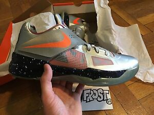 premium selection 9ab35 be7f6 Image is loading NIKE-ZOOM-KD-IV-ALL-STAR-GALAXY-SIZE-
