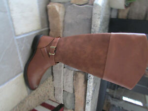 Nuovo Cognac Boots 8 Side 727681018185 Tall Whisky Edelman Circus Sam Womens Zip 5 w1HqwC64
