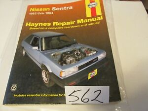 Details about NISSAN SENTRA HAYNES SERVICE REPAIR MANUAL 72050 WIRING on 94 wrangler wiring diagram, 94 impreza wiring diagram, 94 grand am wiring diagram, 94 galant wiring diagram, 94 240sx wiring diagram, 94 explorer wiring diagram, 94 integra wiring diagram, 94 eclipse wiring diagram, 94 dakota wiring diagram,