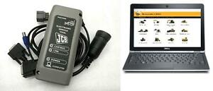 JCB diagnostic and data system + Data Link Adapter