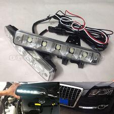 Waterproof Super Bright 15W 5 LED Car DRL Daytime Running Light Driving Fog Lamp