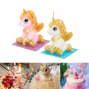 Cute-3D-Unicorn-Candles-Party-Supply-1PC-Baby-Shower-Birthday-Party-Cake-Decor