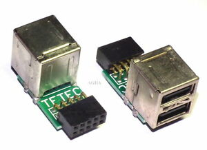 10-Pin-9-Pin-Motherboard-to-2-Ports-USB-2-0-A-Female-Internal-Header-Adapter