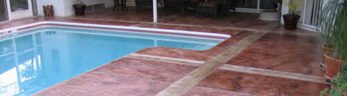 Stamped Concrete Accent Stain Water-Based Floor Color Eco-Accent