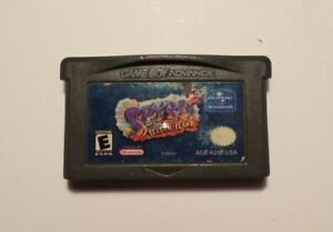 Nintendo Gameboy Advance SPYRO SEASON FLAME No Manual - No Box - Tested