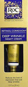 RoC-Retinol-Correxion-Deep-Wrinkle-Night-Cream-1-Oz-Free-Worldwide-Shipping