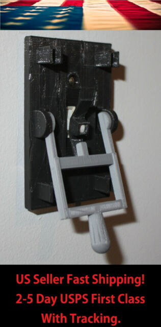 Frankenstein Light Switch Cover Plate Flip Handle - Home Decor - Black