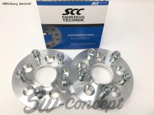 60mm 2x30mm SCC Spurverbreiterung Nissan 5x114,3 66,1 Spurplatten Stehbolzen