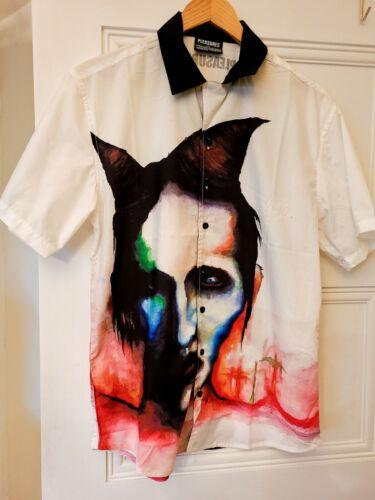 Rare Marilyn Manson Pleasures Watercolor Painting