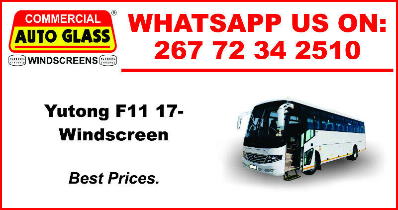 Windscreen For Yutong F11 2017 For Sale.