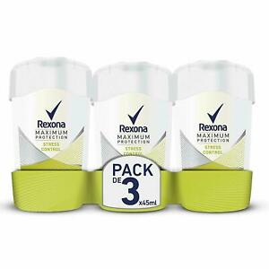 Rexona-Maximum-Protection-Stress-Control-Anti-Transpirant-Damen-Deo-3-x-45-ml