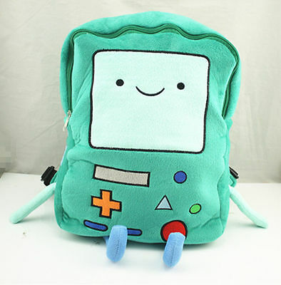 Adventure Time BMO Beemo 15 inch Plush Large Backpack Book Bag Xmas Gift