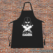 """Darth Baker"" Cooking Apron Gift Fathers Day Mothers Day Funny Star Wars Parody"
