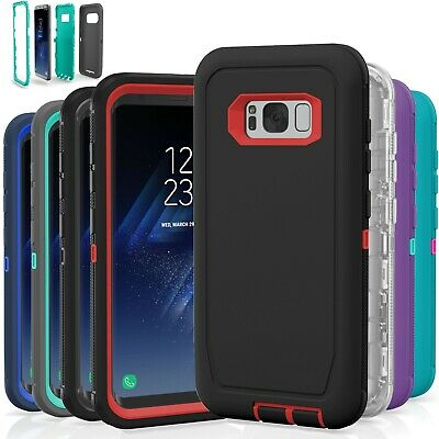 newest 2c95c c81a4 Samsung Galaxy S8 / S8 Plus Case Cover Shockproof Hybrid Hard Rugged Rubber  TPU | eBay