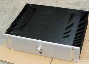 Aluminum-Enclosure-Class-A-Power-Amplifier-Chassis-Case-DIY-Box-W430-H130-D313mm