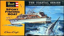 REVELL Kit No. H387-100, Chris Craft SPORT FISHING BOAT - NIB & SEALED, 1996