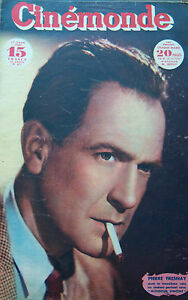 Cinema-Pierre-Fresnay-Chaplin-Cocteau-Andrea-King-Veidt-N-672-Kodak-1947