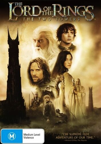 1 of 1 - The Lord Of The Rings : The Two Towers - (2-Disc Set) - NEW DVD - R4
