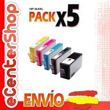 5 Cartuchos de Tinta NON-OEM HP 364XL - Photosmart C5380