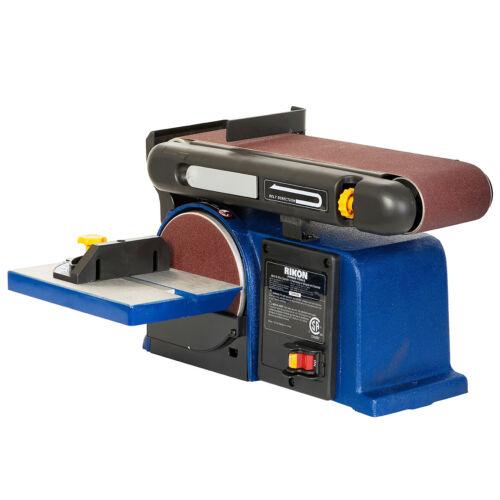 RIKON 50-112 120-Volt 4 x 36-Inch Cast Iron Steel Belt and 6-Inch Disc Sander