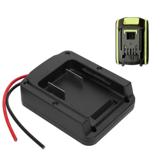 Battery Adaper Converter for Worx Lithium Charger to Output Connect Cable New