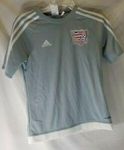 Adidas Youth 11-12 TSSC Juniors Academy Grey Soccer Jersey NWOT ...