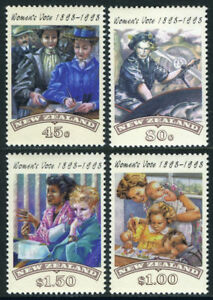 1993-New-Zealand-Womens-Suffrage-Unmounted-Mint-Stamp-Set-UK-Seller
