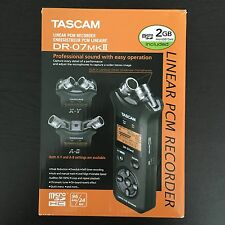TASCAM DR-07 MKII Linear PCM Recorder
