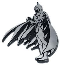 Batman Figurine Side View Chrome Auto Emblem Paint Safe 3m Foam Adhesive Tape