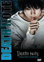 Death Note Live Action Movie Complete Collection 1 2 3 Uncut English Dub Dvd Us