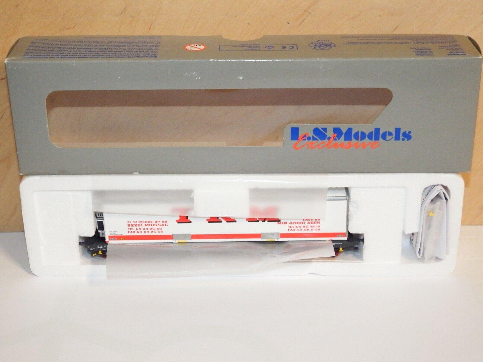 H0 LS MODELS 30302 container Carrello 40' SNCF KKK KKK KKK come nuovo OVP 6522 9b7b53