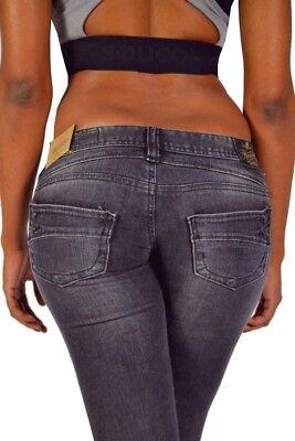 Gris foncé Magnifique Jeans Femmes Pitch slim 5303 n9946 w29 31,32 l32