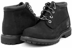 Details zu Timberland Women's BLACK Waterproof Nellie Chukka Double Boots Shoes 23398 USA