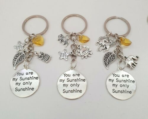 Keyrings Keychains Various Designs With Gift Bag Sister Family Love Present Gift