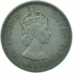 COIN / EAST CARIBBEAN STATES / 25 CENTS 1957      #WT27540