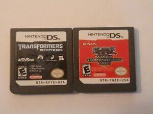 Nintendo-DS-Bundle-Lot-2-Games-Cartridge-Only-Transformers-Yu-Gi-Oh