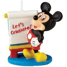 Wilton MICKEY MOUSE BIRTHDAY CANDLE Disney Birthday Cake Party Theme Supplies