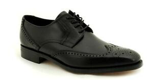 Loake-Seam-Stitched-Premium-Men-039-s-Shoes-5-Eye-Waterloo-Black-1