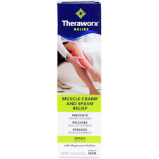 Theraworx Relief Spray 7.1 Oz Prevents Muscle Cramps Foot and Leg Cramps.