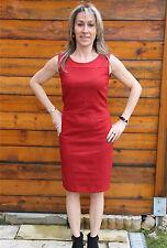 vestido vestido lana rojo M&F GIRBAUD bandogami TALLA 44 NUEVA ETIQUETA