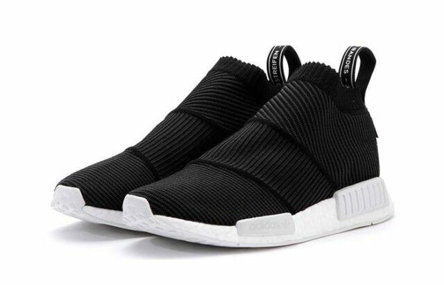 New Mens Adidas Originals NMD City Sock CS2 Primeknit Boost Black CQ2373 Sz 11 | eBay