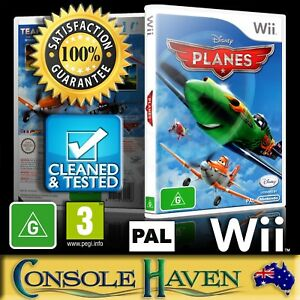 Wii-Game-Planes-Disney-G-Flight-Simulation-Flying-PAL-Guaranteed