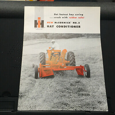2pt Fast Hitch IH International Harvester McCormick No 12 Side Delivery Hay Rake