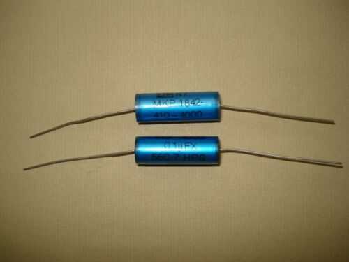 capacitor ERO MKP1842 1 Kondensator Audio 0,1uF FX 400VAC NOS axial