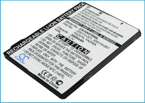 3,7 v Bateria Para Hp Ipaq Hx4800, 359498-001, 290483-b21, Ipaq Hx4700, Ipaq hx470