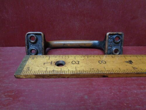 2 ANTIQUE CAST IRON DOOR WINDOW LIFTS TOOLBOX HANDLES MORE AVAIL #7