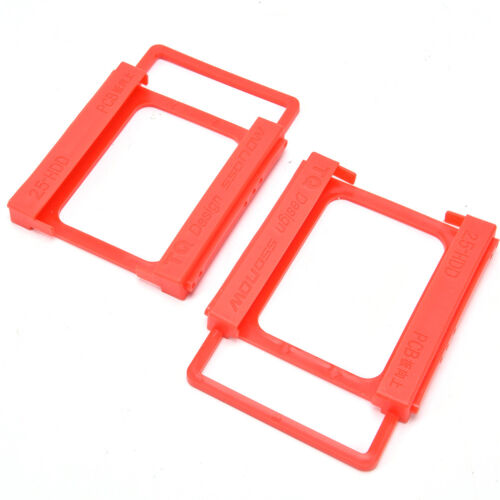 "5x Drive Bay Caddies SSD Hard Drive Bay 2.5/"" To 3.5/"" Tray Bracket HDD Adapter KK"