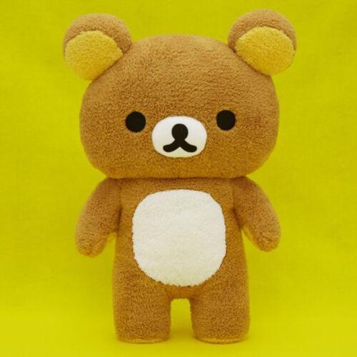 NEW Fans San-X Rilakkuma Fuwamoko 55cm DX Jumbo XL Plush Doll SS9995 US Seller
