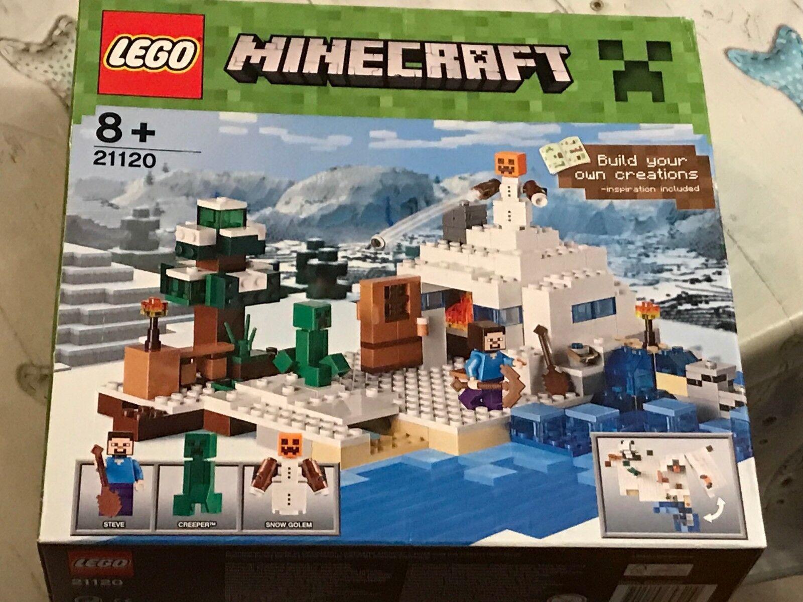 LEGO 21120 MINECRAFT LA MAISON SOUS LA NEIGE NEUVE BOITE SCELLEE